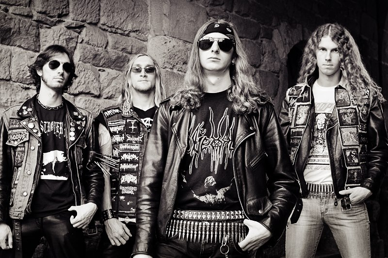 Hexecutor, groupe de Thrash metal rennais au Courtsof Chaos 2017