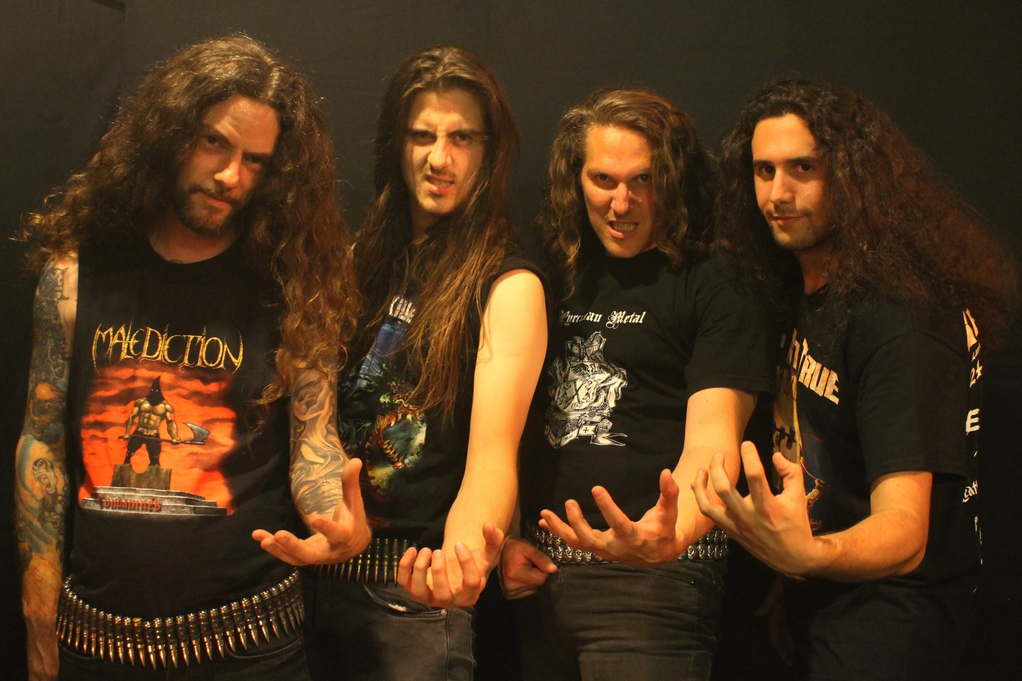 Tentation, groupe de Hard metal français au Courts of Chaos 2017
