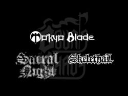 3 groupes de metal, Tokyo Blade, Sacral Night et Skelethal rejoignent le festival Courts of Chaos